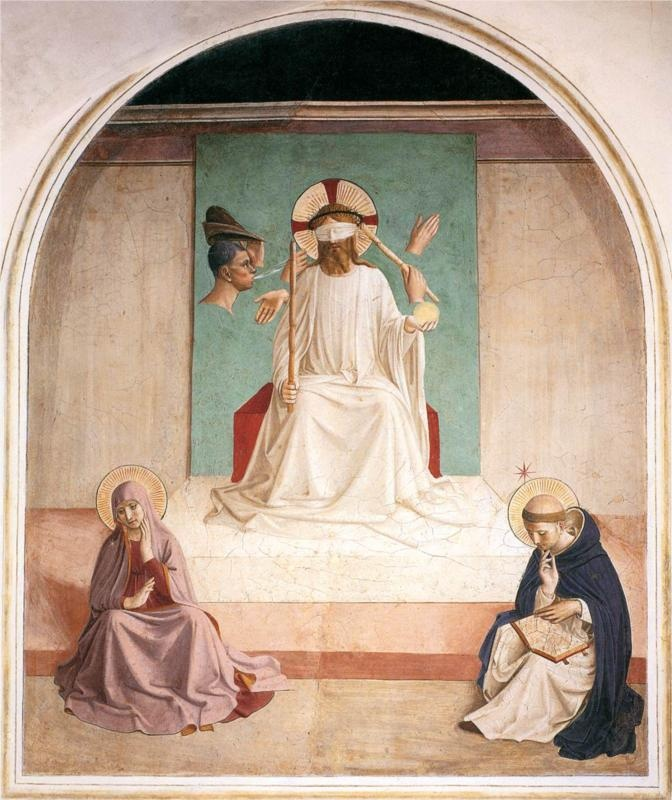 Fra Angelico, The Mocking of Christ, 1440 - 1441