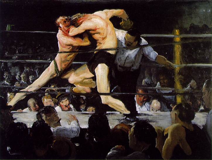 Stag at Sharkeys by George Bellows