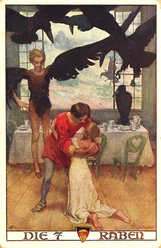 The Seven Ravens, one of my favorite Grimms' tales